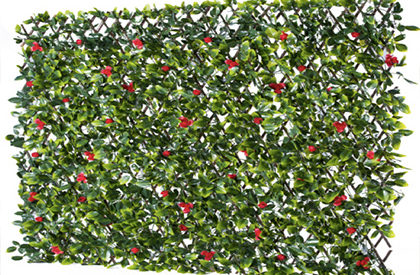 Red & Green Trellis for wall