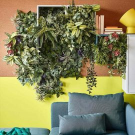 artificial vertical garden room
