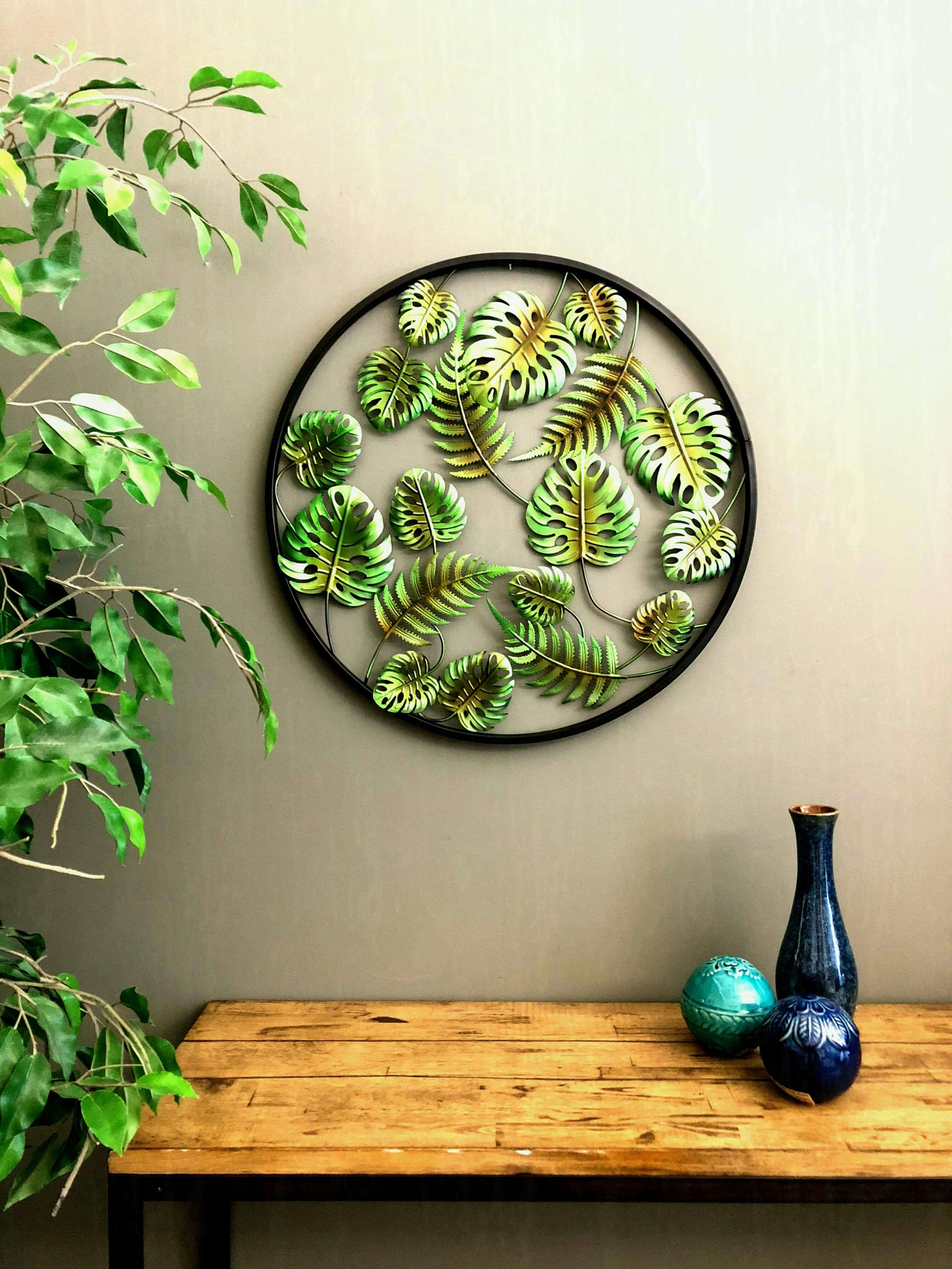 artificial plant wall covering