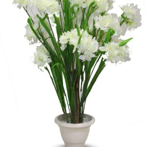 AG - Artificial Plants green white