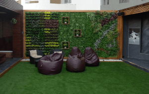 Artificial turf for decoration