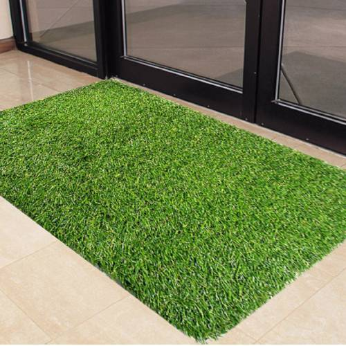Artificial grass doormat