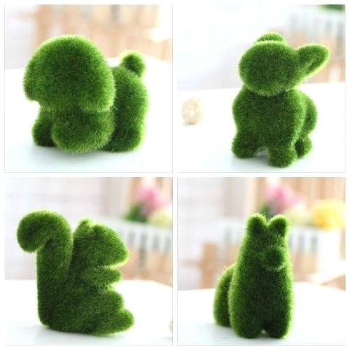 Artificial grass for crafts
