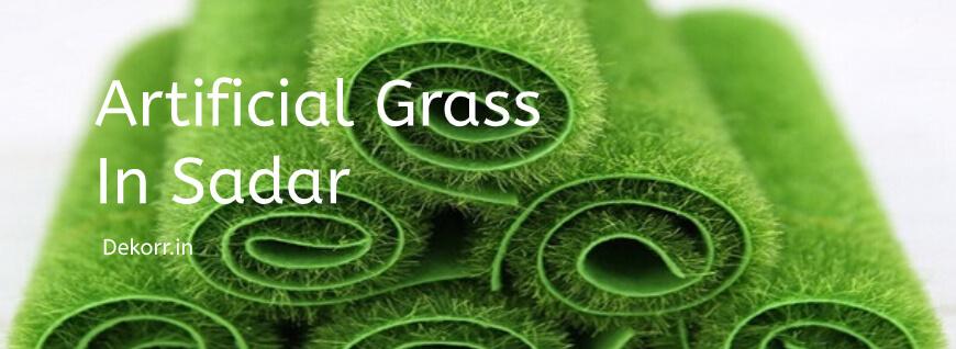 Artificial grass in sadar bazar